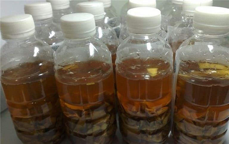 rượu cây lược vàng chữa đau lưng