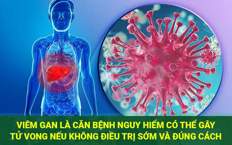 bệnh viêm gan có nguy hiểm không