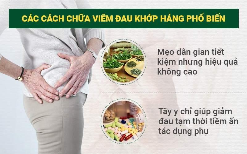 cách chữa viêm đau khớp háng