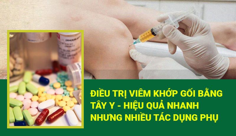 Thuốc điều trị bệnh viêm khớp gối