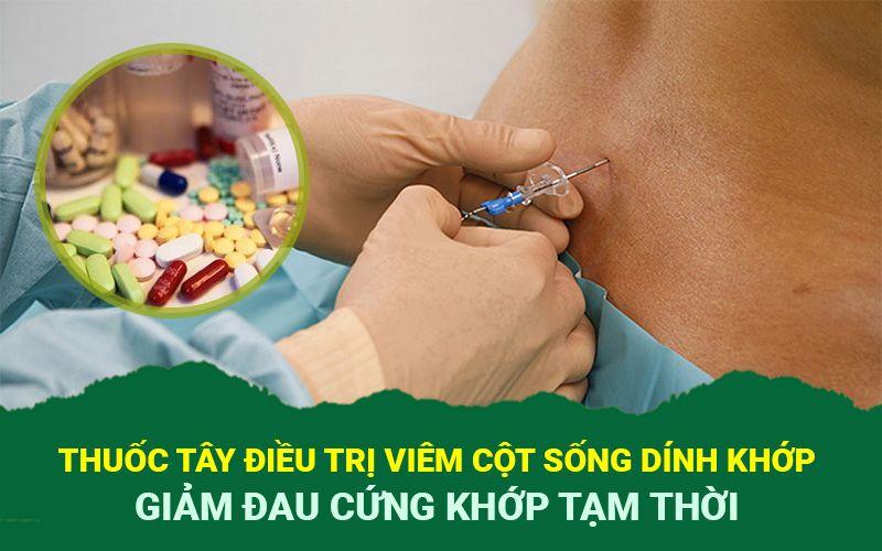 Viêm cột sống khớp uống thuốc gì cần do bác sĩ chỉ định