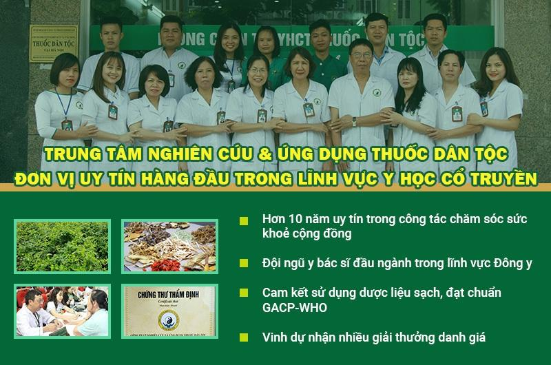 Trung tâm Thuốc dân tộc - Đơn vị hàng đầu về YHCT