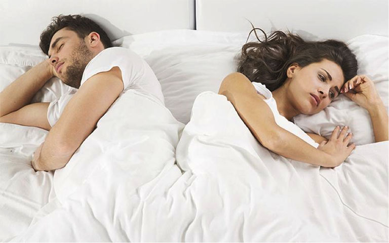 Yếu sinh lý vợ chồng trên giường