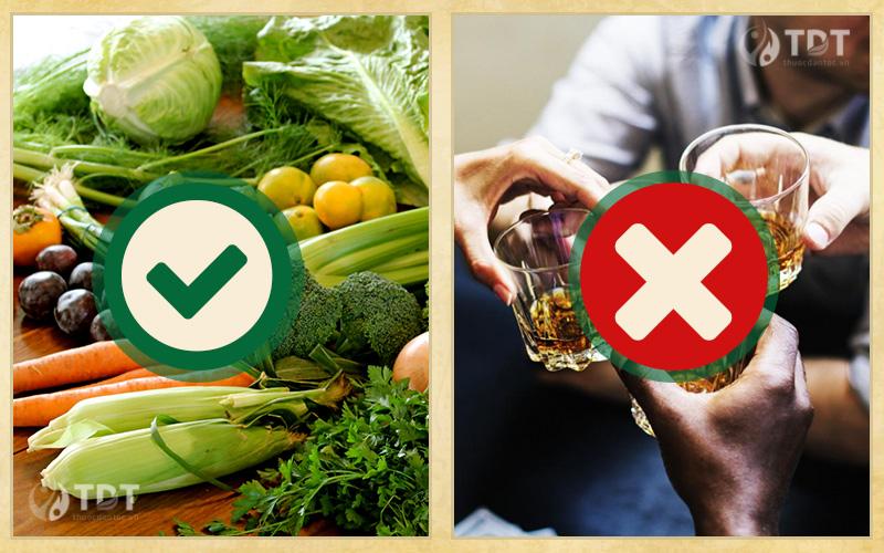Chế độ dinh dưỡng cho người bị thoái hóa khớp háng