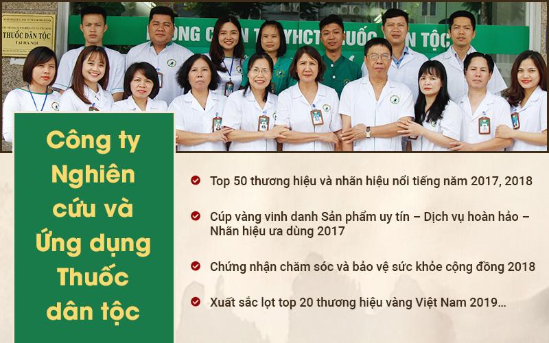 Thành tựu của trung tâm Nghiên cứu và Ứng dụng Thuốc dân tộc
