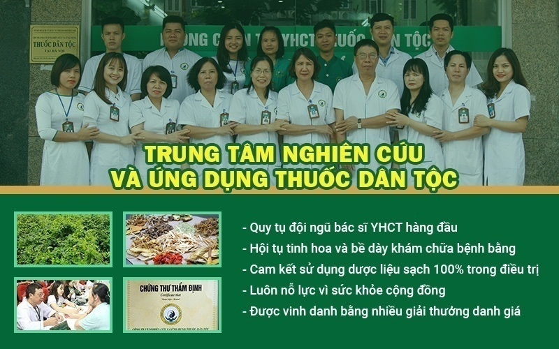 chữa mề đay tại Trung tâm Thuốc dân tộc