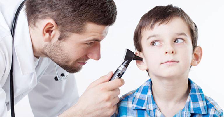 chẩn đoán viêm tai giữa