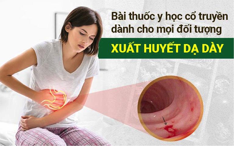 Xuất huyết dạ dày y học cổ truyền