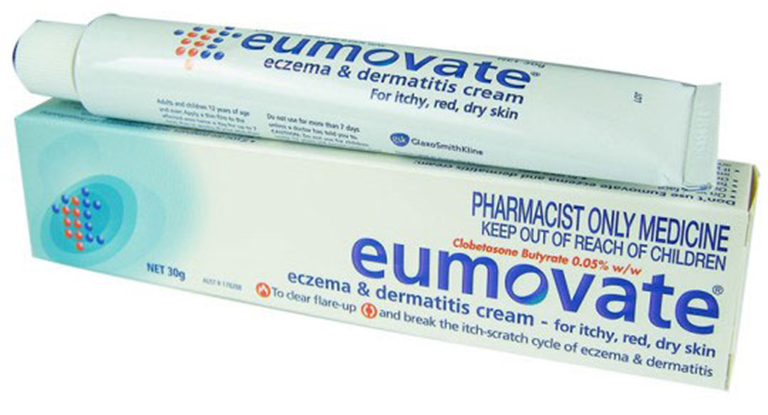 Sử dụng thuốc Eumovate để điều trị chàm sữa cho trẻ em