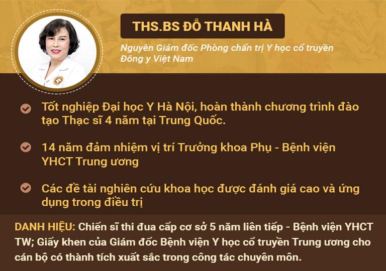 Bác sĩ Đỗ Thanh Hà - vị bác sĩ gần 40 năm đồng hành cùng chị em phụ nữ