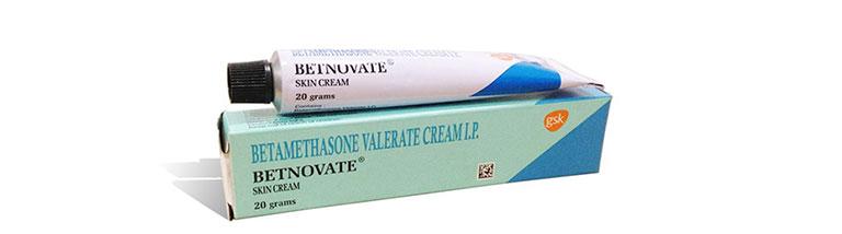 Betnovate hỗ trợ điều trị chàm sữa cho bé