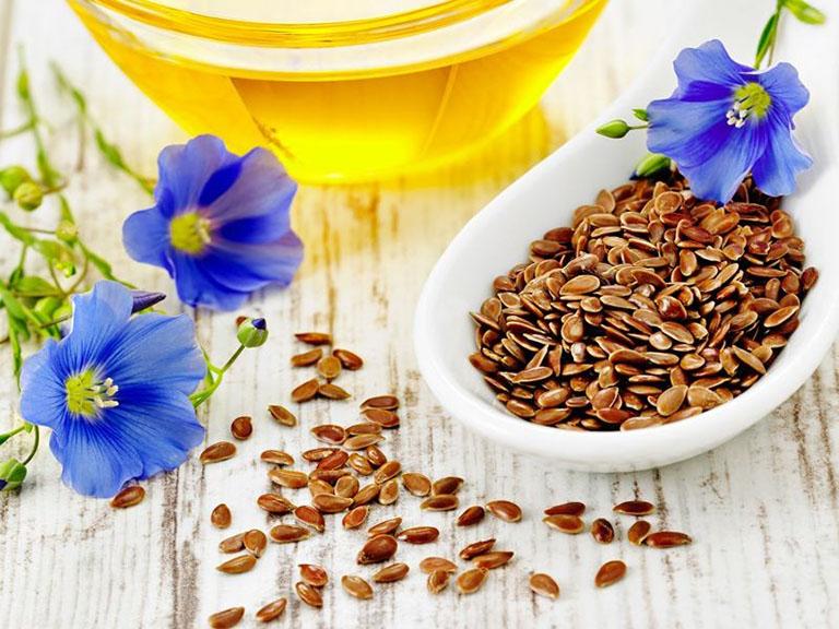 Bệnh chàm nên ăn dầu hạt lanh