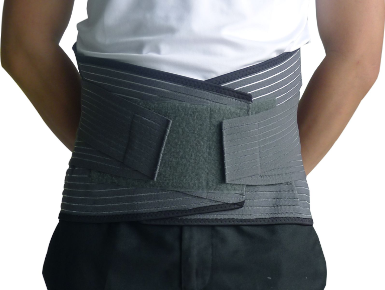 Đai đeo lưng chữa thoát vị đĩa đệm được sử dụng nhiều để hỗ trợ điều trị.