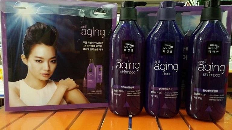 Dầu gội trị ngứa da đầu Anti Aging