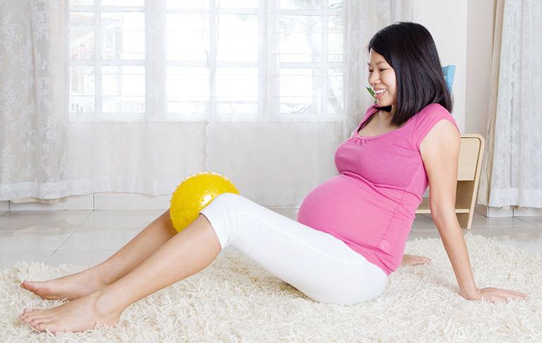 chữa đau khớp gối khi mang thai