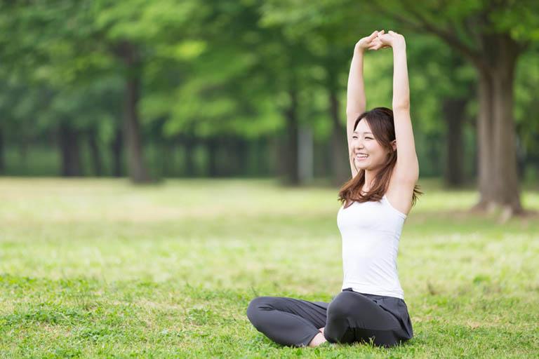 Tập thể dục tăng sức đề kháng ngừa mề đay vật lý