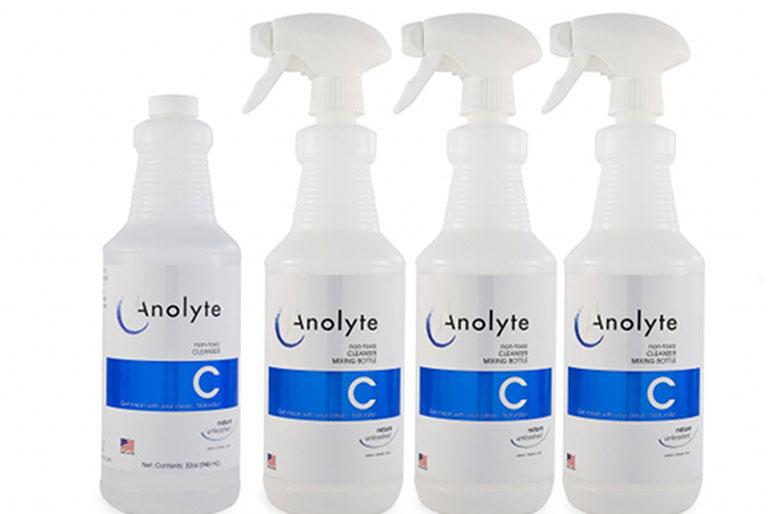 dùng nước Anolyte chữa viêm da cơ địa