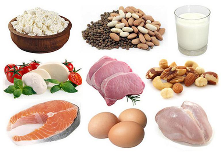 Thực phẩm chứa nhiều protein trẻ nên kiêng