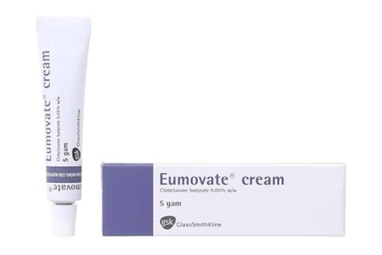 Thuốc Eumovate trị chàm sữa