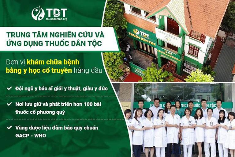 Trung tâm Thuốc dân tộc đơn vị hàng đầu về lĩnh vực YHCT
