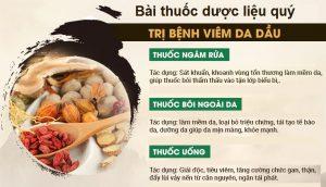 Thông tin bài thuốc quý chữa viêm da dầu