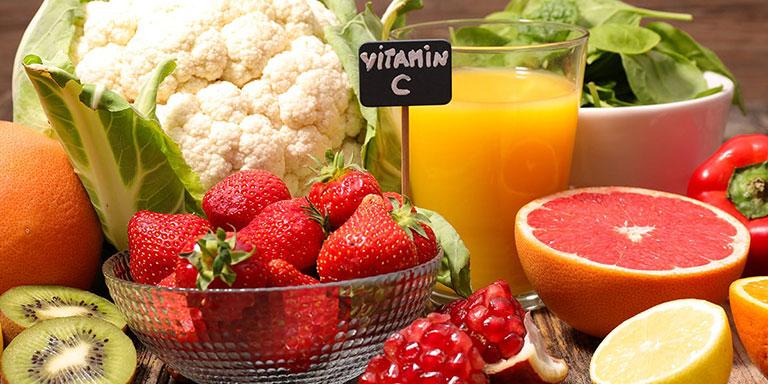 Tăng lượng Vitamin C
