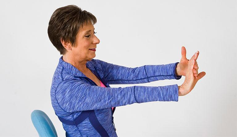 bài tập điều trị hội chứng ống cổ tay