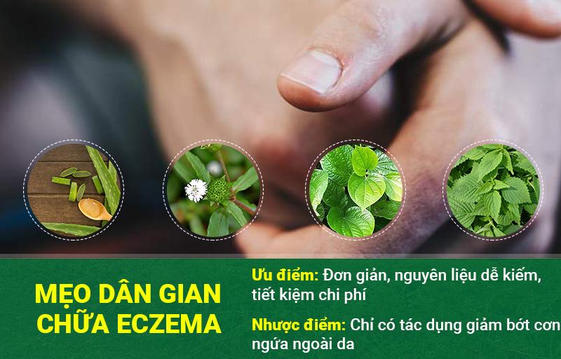 Mẹo dân gian chữa eczema