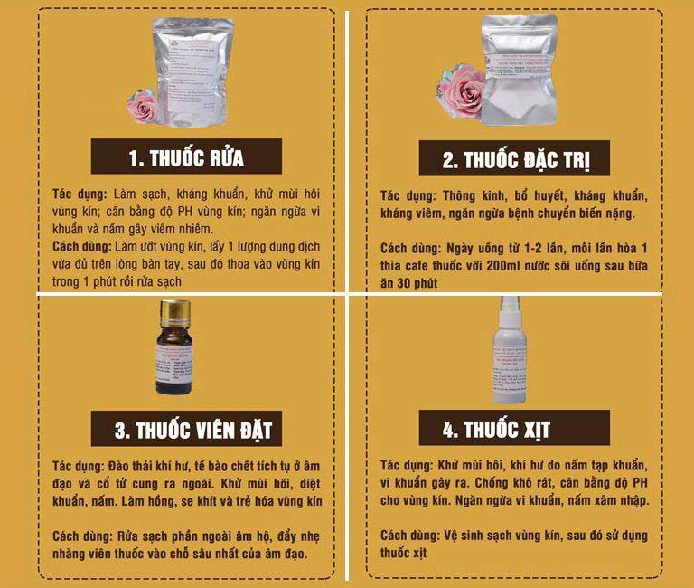Thành phần, công dụng của bài thuốc trị huyết trắng Phụ Khang Đỗ Minh