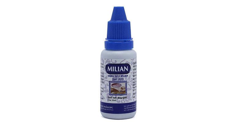thuốc bôi chốc lở - Dung dịch Milian