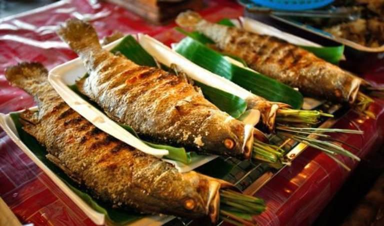 Chỉ nên nướng hoặc hấp cá để ăn