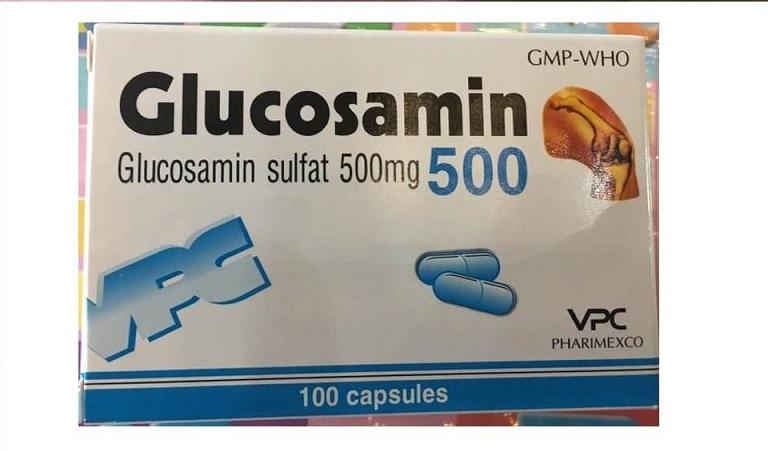 bị tràn dịch khớp gối có thể uống Glucosamine