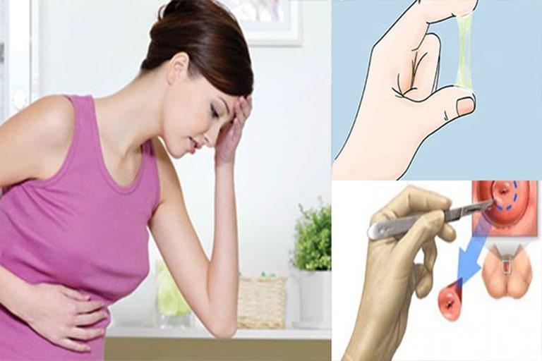 Bị viêm lộ tuyến cổ tử cung có mang thai được không