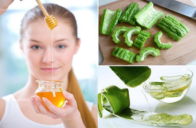 Các liệu pháp tự nhiên rất an toàn cho làn da mặt đang bị dị ứng mỹ phẩm