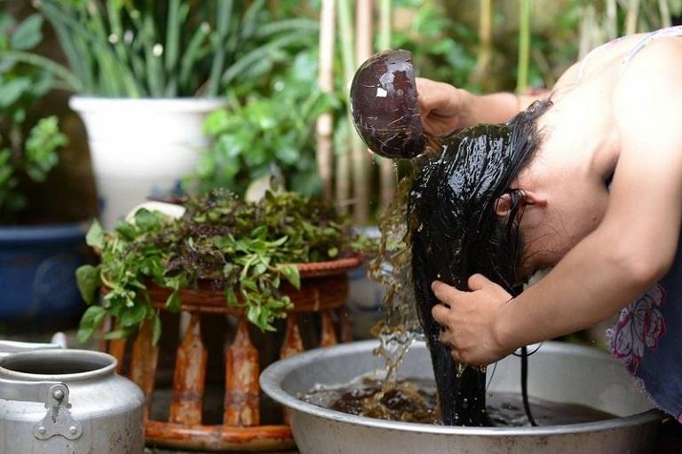 Cách chữa nấm tóc tại nhà bằng bồ kết