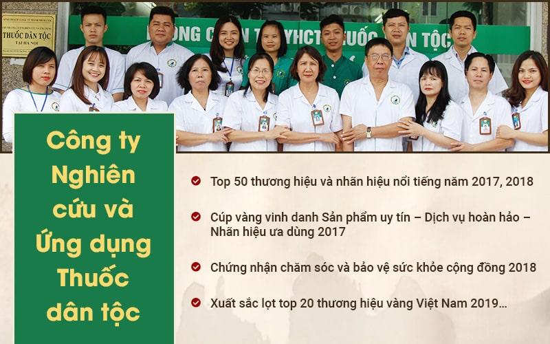 Trung tâm Nghiên cứu và Ứng dụng Thuốc dân tộc là địa chỉ chữa bệnh á sừng uy tín