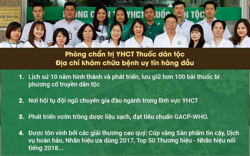 Điều trị bệnh chàm tại Phòng chẩn trị YHCT Thuốc dân tộc