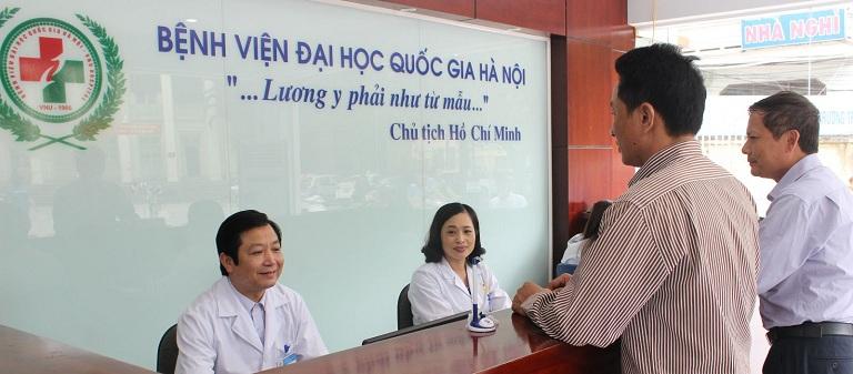 chữa thoái hóa đốt sống cổ tại Bệnh viện Đại học Quốc gia Hà Nội