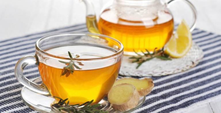 Uống trà gừng để trung hòa độc tố, xoa dịu cơn đau