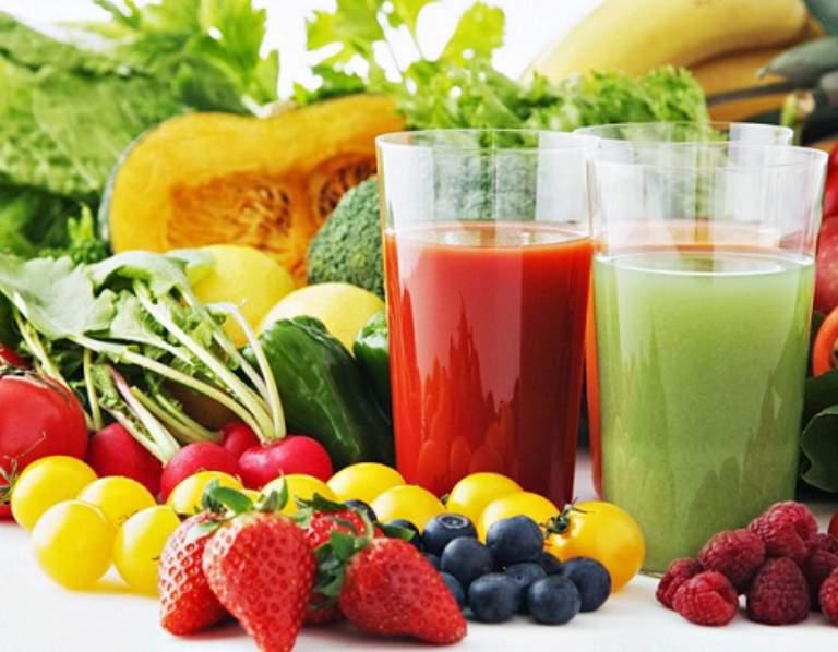 Nước ép hoa quả rất tốt cho người bị dị ứng hải sản