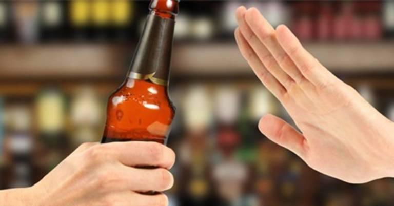 Không sử dụng rượu bia, chất kích thích khi bị dị ứng hải sản