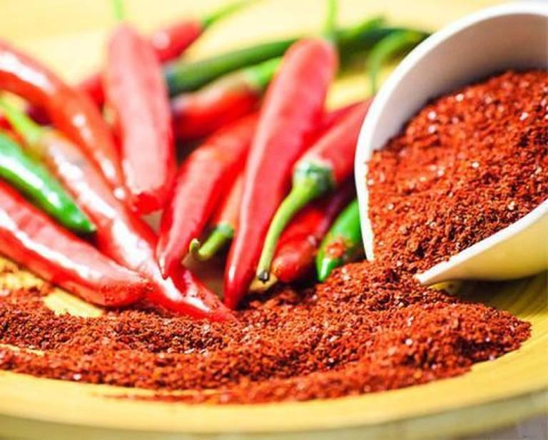 Hạn chế thức phẩm cay nóng, nhất là tiêu, ớt