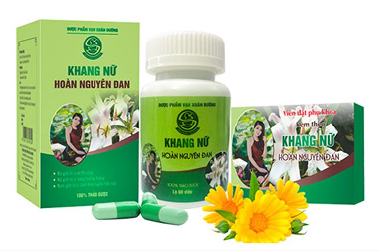Khang Nữ Hoàn Nguyên Đan là một trong những loại thuốc đặt phụ khoa tốt nhất hiện nayKhang Nữ Hoàn Nguyên Đan là một trong những loại thuốc đặt phụ khoa tốt nhất hiện nay