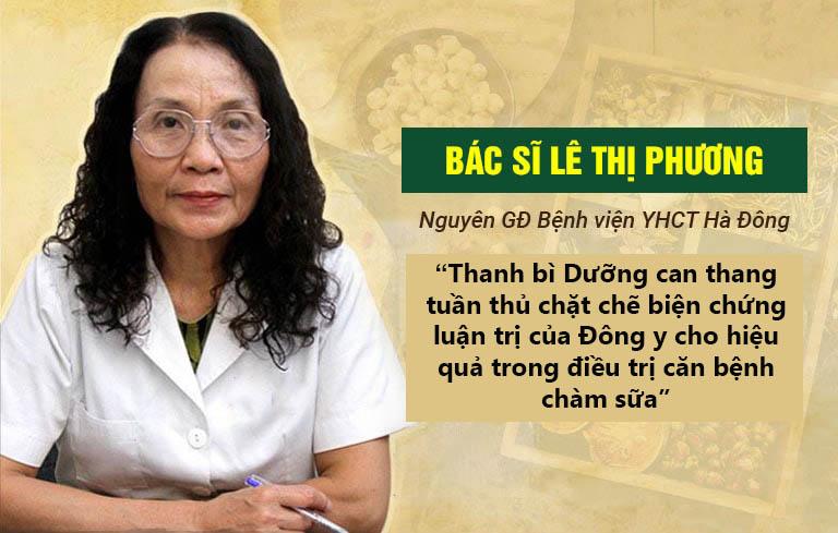 Nhận xét của bác sĩ Lê Thị Phương