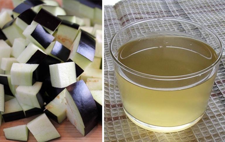 Nước luộc cà tím có công dụng điều trị nhiều loại bệnh khác nhau