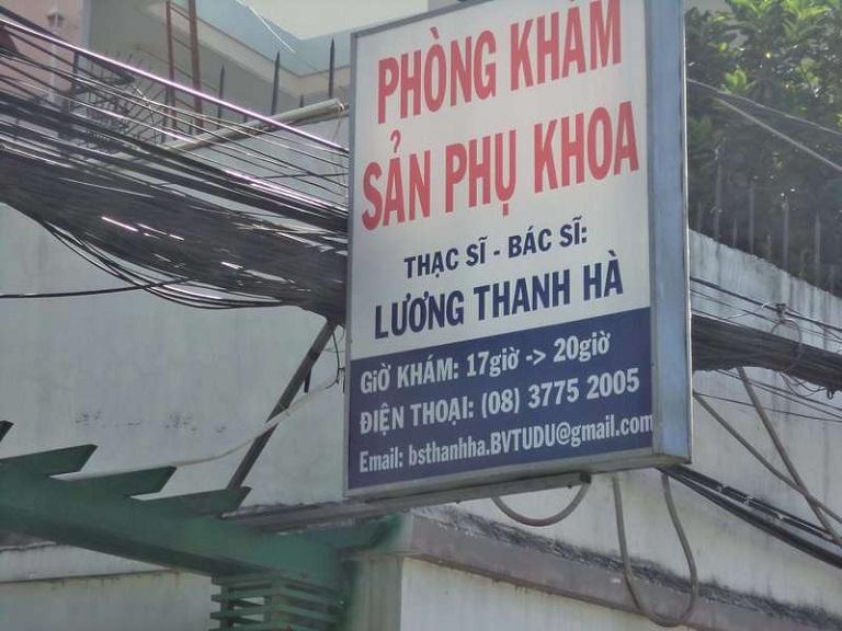 Phòng khám phụ khoa quận 7 - bác sĩ Lương Thanh Hà