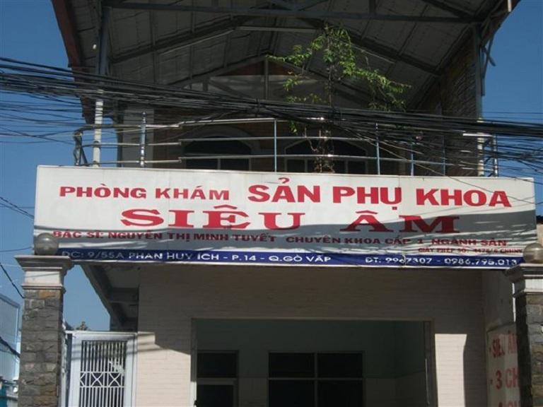 Phòng khám Sản phụ khoa Gò Vấp bác sĩ Nguyễn Thị Minh Tuyết
