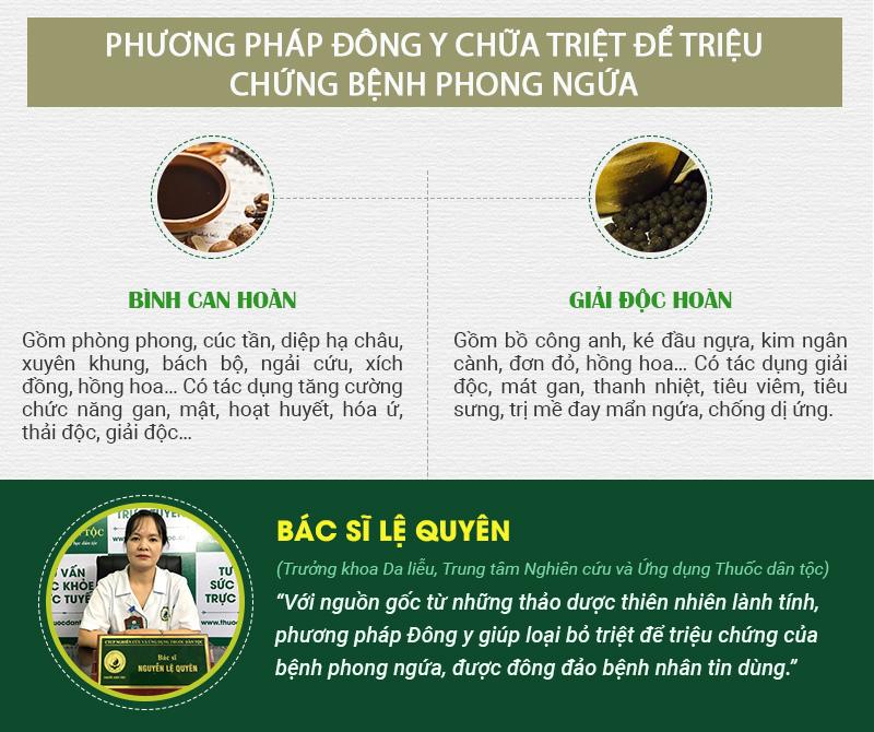 Phương pháp Đông y từ thảo dược thiên nhiên giúp chữa triệt để triệu chứng bệnh phong ngứa