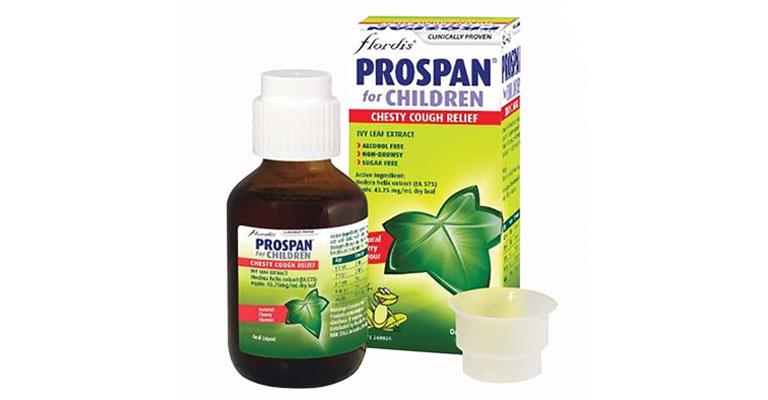 Prospan là thuốc trị ho có đờm cho trẻ