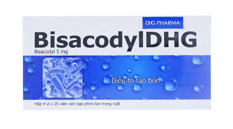 Thuốc Bisacodyl chữa táo bón tốt không?